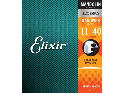 Struny pro mandolínu ELIXIR 11-40