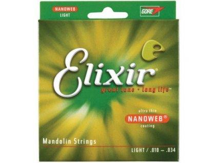 Struny pro mandolínu ELIXIR 11500 10/34