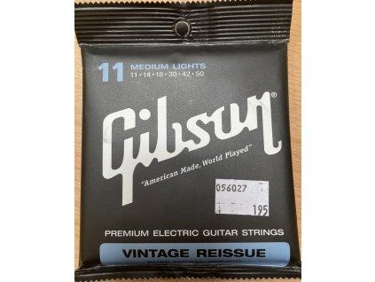 GIBSON SEG-VR11 struny na el. kytaru 11-50