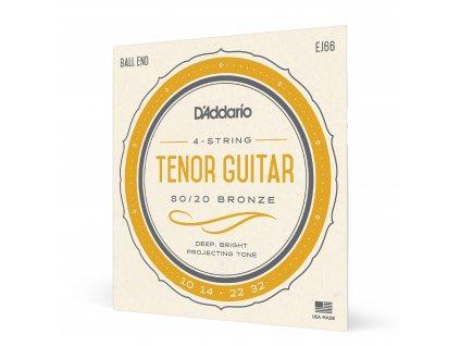 Struny na tenorovou kytaru Daddario EJ66 10-23