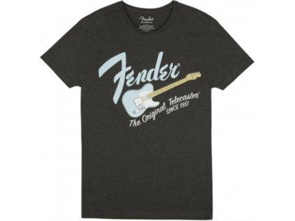 Fender triko Baja Blue L