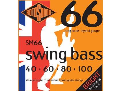 Struny na pětistrunnou basovou kytaru ROTOSOUND RS SM66