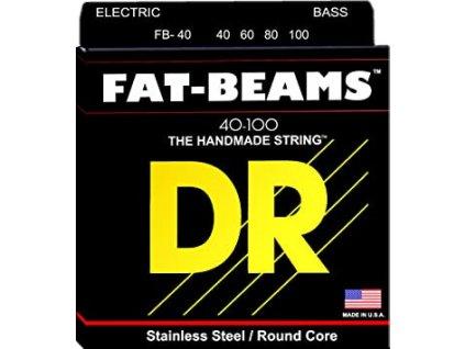 Struny na 4-strunnou basovou kytaru FB-40-100