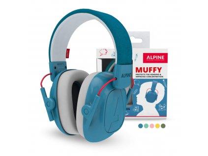 Ochranná sluchátka ALPINE MUFFY BLUE