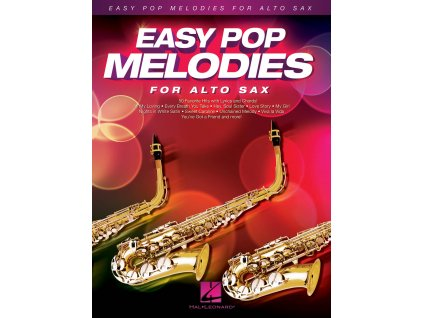 EASY POP MELODIES FOR ALTO SAXOPHONE