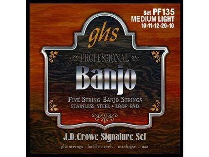 Struny na banjo GHS PF 135