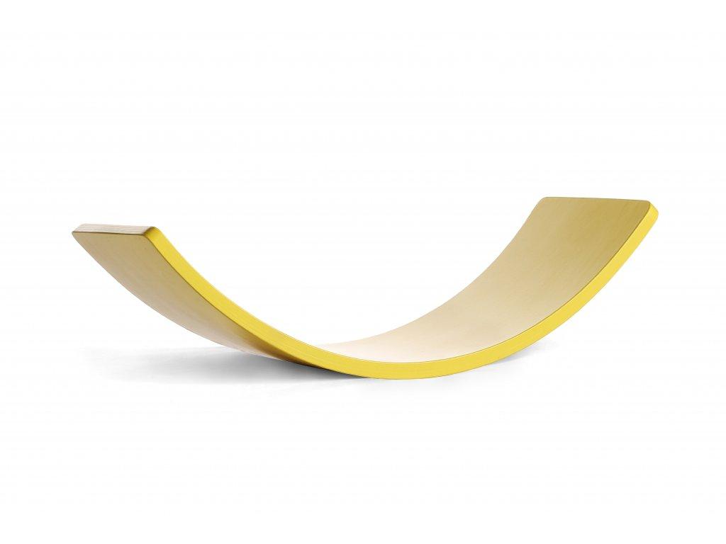 HOUPACÍ DESKA Montessori 74 - 2112 Citronově žlutá