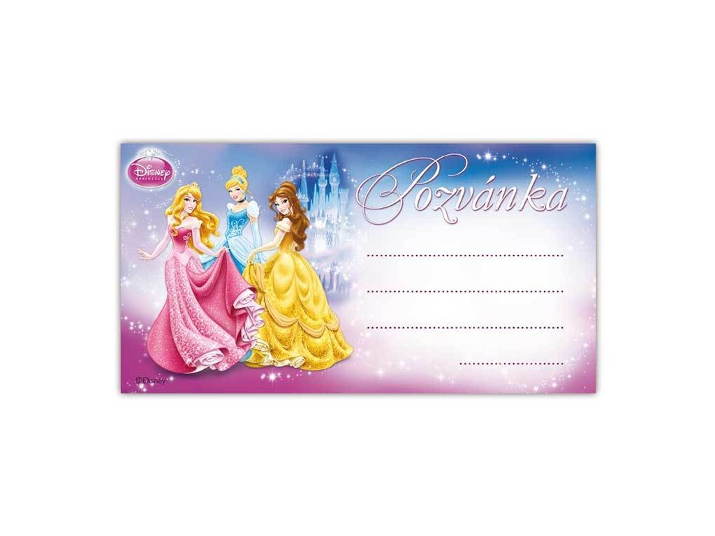 98523258 pozvanka y01 disney princess 10ks