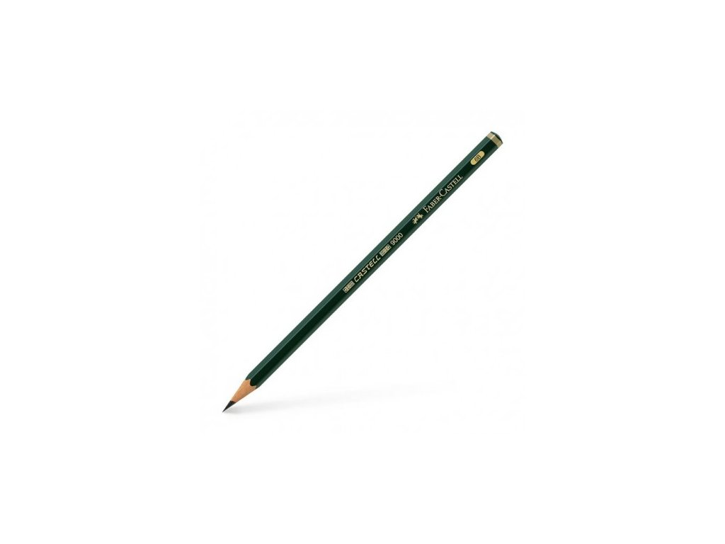 faber castell pencil 9000 6b