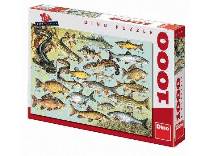 Puzzle Ryby 1000 dílků