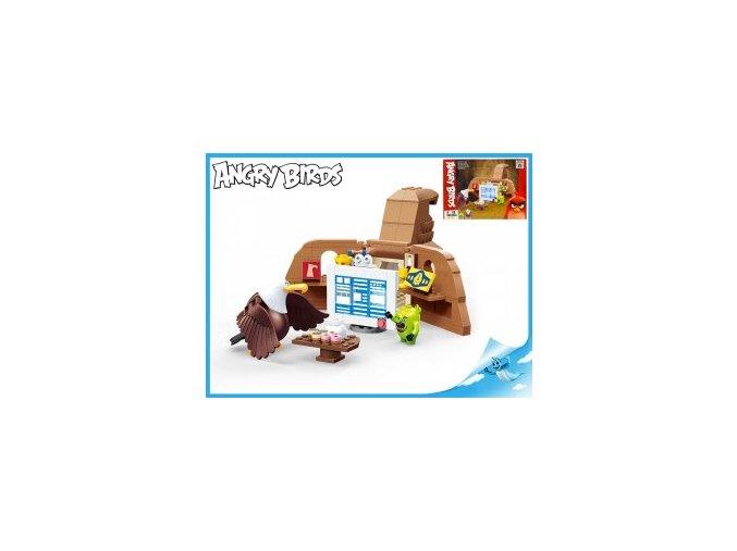 Edukie stavebnice Angry Birds - výpočetní středisko