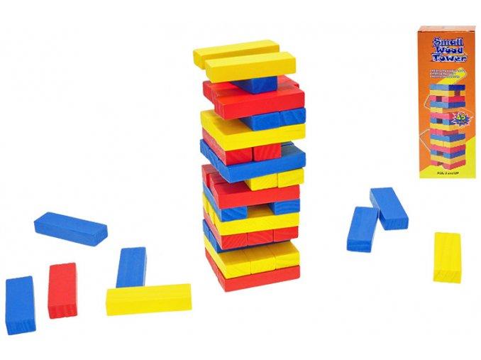 Hra Dřevěná skládací věž