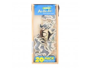 Dřevěné magnetky Koně 20ks