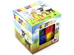 Kostky kubus PH plast 8ks v krabičce