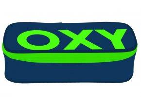 Penál školní etue Oxy Comfort Neon Dark Blue nenaplněný