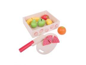 Krájení ovoce v krabičce
