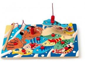 Motorické puzzle rybaření