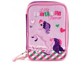 Školní penál s náplní Little Friends Forever Target