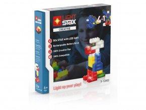 Light Stax Creative - 4 v 1 - 50 svítících kostek