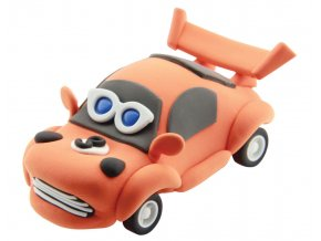 Racing Time auto 28g+14g oranžové