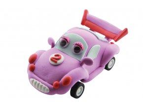 Růžové auto[1]