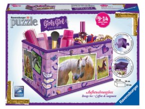 Úložná krabice Kůň 3D