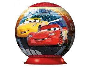 3D puzzleball Disney Auta 3 72 dílků