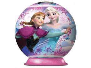 3D puzzleball Ledové království 72 dílků