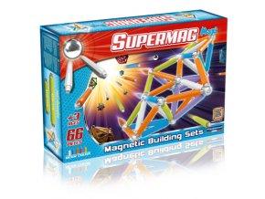 Supermaxi Fluo zářivé barvy 66 dílků