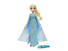 Panenka Ledová královna Elsa z Arendelle - magická proměna