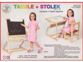 Tabule + stolek magnetická