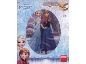 Frozen 20 Dřevěné kostky
