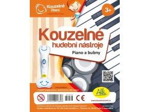 Kouzelné čtení Kouzelné hudební nástroje - Piano a bubny