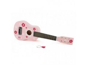 VILAC%20PINK%20FLOWER%20WOODEN%20GUITAR 500x500[1]