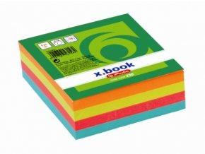 Poznámkový bloček barevný 8x8 cm