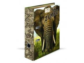 Pořadač A4 páka 7cm GEO NATURE slon