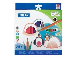 Pastelky MILAN 24 ks
