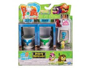 Flush Force 8 figurky + 2 záchody