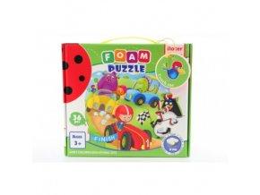 penove puzzle zavody