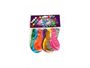 1076763461 nafukovaci balonky barevne metalicke sada 10 ks mix barev