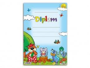 Diplom A5 - dětský diplom