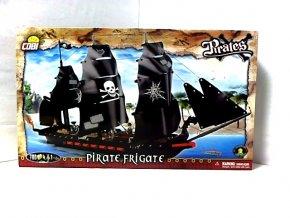 PIRÁTI - Pirátská fregata 700d, 4f, žralok