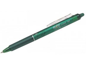 roller pilot frixion clicker 07 mm zelena