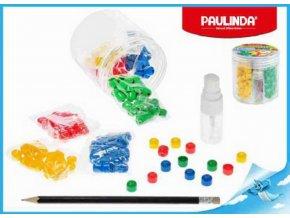 98500227 paulinda super beads 10x8mm 4barvy 160ks s doplnky v doze