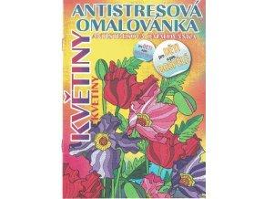 Antistresová omalovánka - Květiny