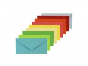 425 obalka dopisni barevna dl
