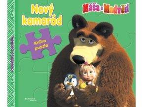 masa a medved novy kamarad kniha s puzzle[1]