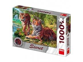 Puzzle Tygři 12 skrytých detailů