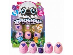 EGG Hatchimals Zvířátka ve vajíčku 4 ks + bonus série 2