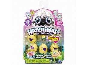 EGG Hatchimals Zvířátka ve vajíčku 4 ks + bonus série 3